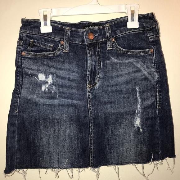 Dear John Denim Mini Skirt